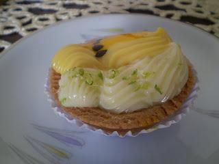 Tortelete de Maracujá e Limão