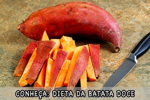 Dieta da Batata Doce