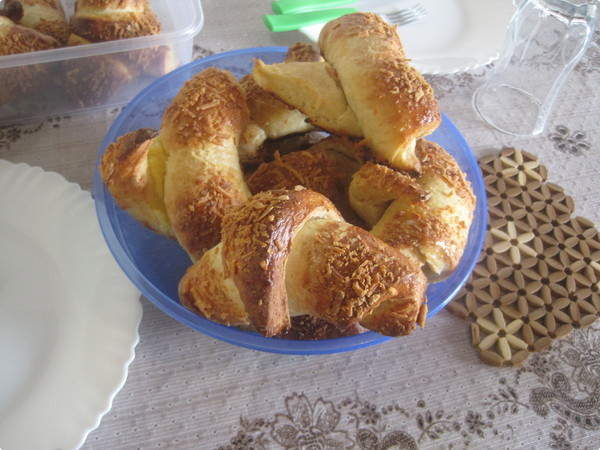 Croissant de Queijo Minas