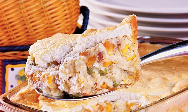 Maionese de forno com sardinha