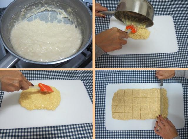 Modo de preparo cocada de leite condensado