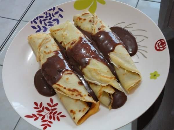 Panquecas de Chocolate