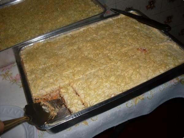 Torta Salgada de Presunto e Requeijão