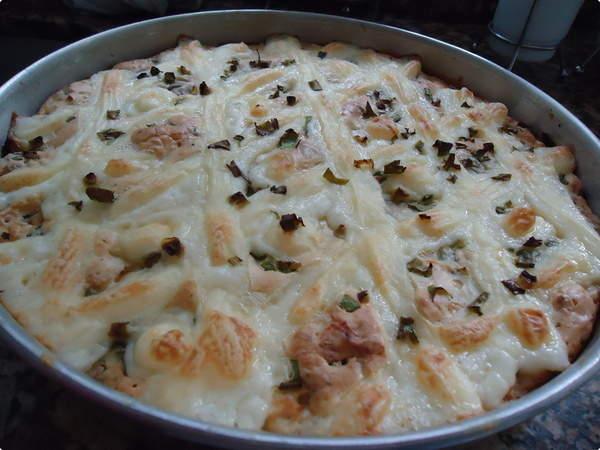 Torta Vapt Vupt de Frango