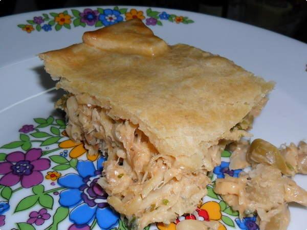 Torta de Bacalhau com Requeijão