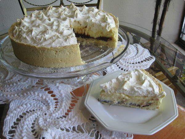 Torta de Limão com Ganache