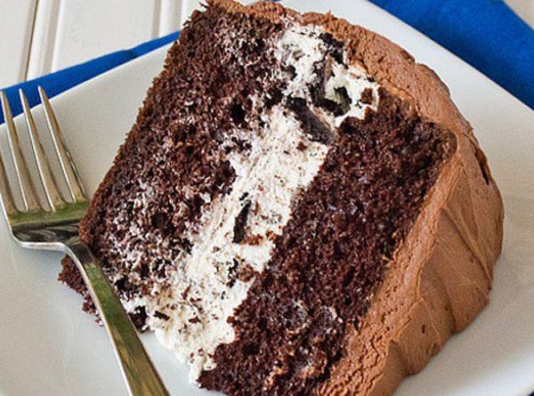 Bolo de Chocolate e Negresco