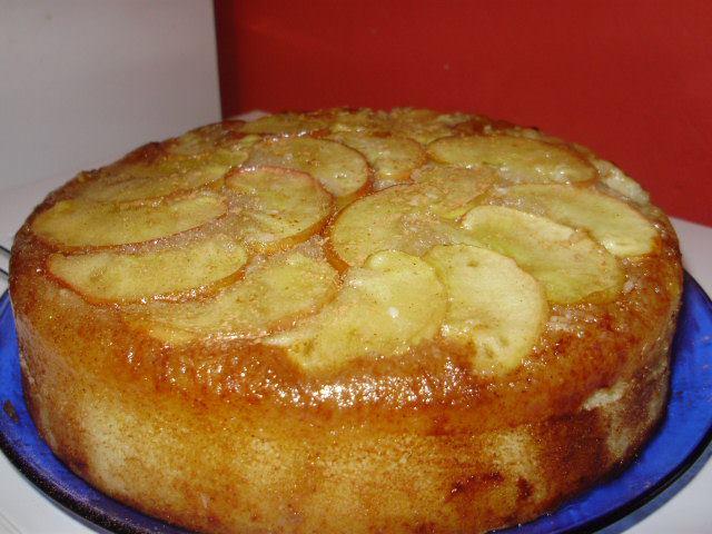 Bolo torta de maçã