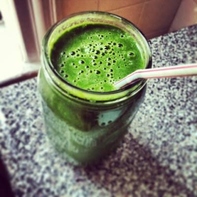 Pele bonita – Bebida Verde