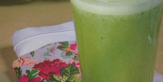 Suco verde para limpar o organismo