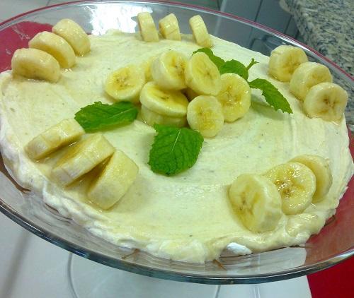Mousse-de-banana
