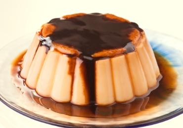 flan-de-baunilha-com-calda-de-chocolate