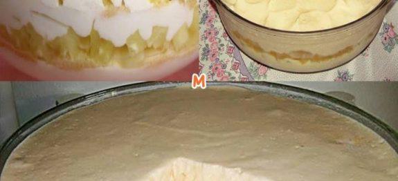 pave delicia de abacaxi