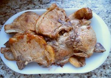 Bisteca-de-porco-macia