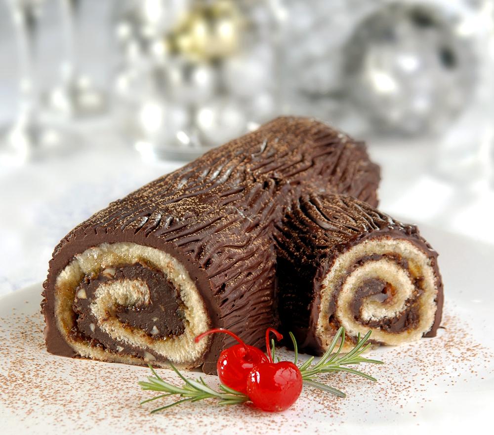 Tronco de Natal Delicioso