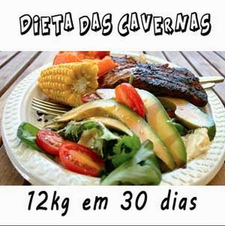 Dieta das Cavernas – Perca 12kg em 30 Dias