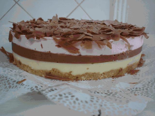 Como fazer Torta 3D