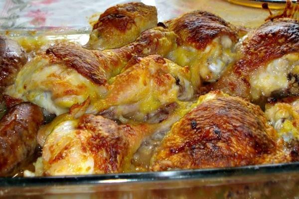 Frango com maionese no forno simples rápido mais é muito gostoso