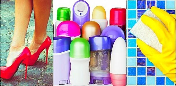 6 usos inusitados do desodorante que você não imaginava