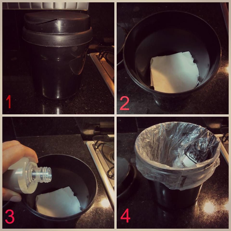 Como evitar odores em lixeiras