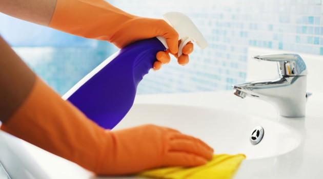 Como limpar o banheiro- 3 dicas fáceis
