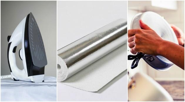 Como usar papel-alumínio- 5 utilidades que nunca passaram pela sua cabeça