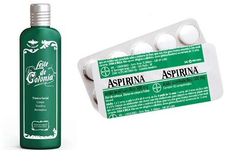 Leite de Côlonia + Aspirina=Seca Espinhas,Tira Manchas e Acaba Com Cravos