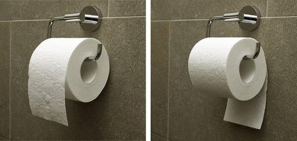 Sabia que você pode ter usado o papel higiênico errado a vida inteira?
