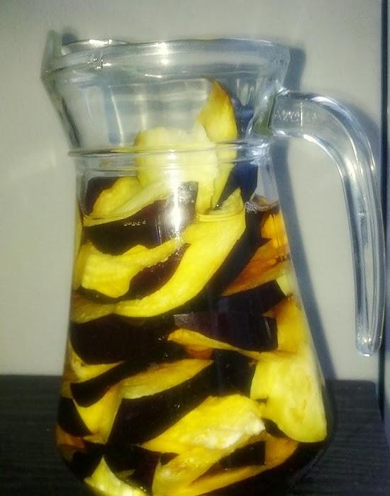 Água de berinjela e limão faz você emagrecer e perder barriga rapidamente