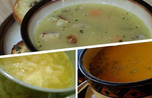 4 Sopas para aliviar os sintomas da gripe