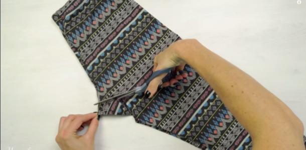 Ela fez um corte na calça legging… O resultado é brilhante! Ideia de genio!