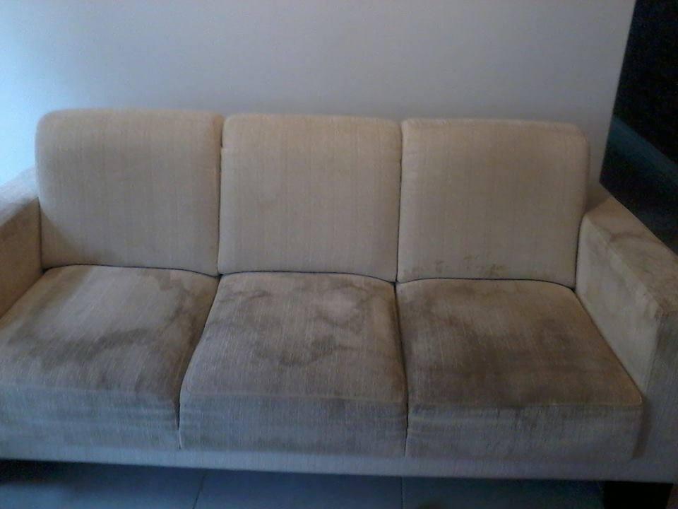 Como limpar estofados em tecido veja a receita - Como limpiar un sofa de tela ...