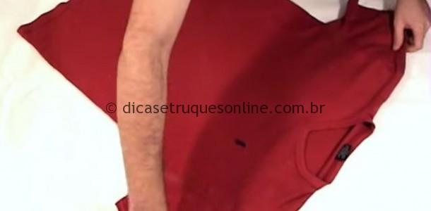 dobrar-camiseta