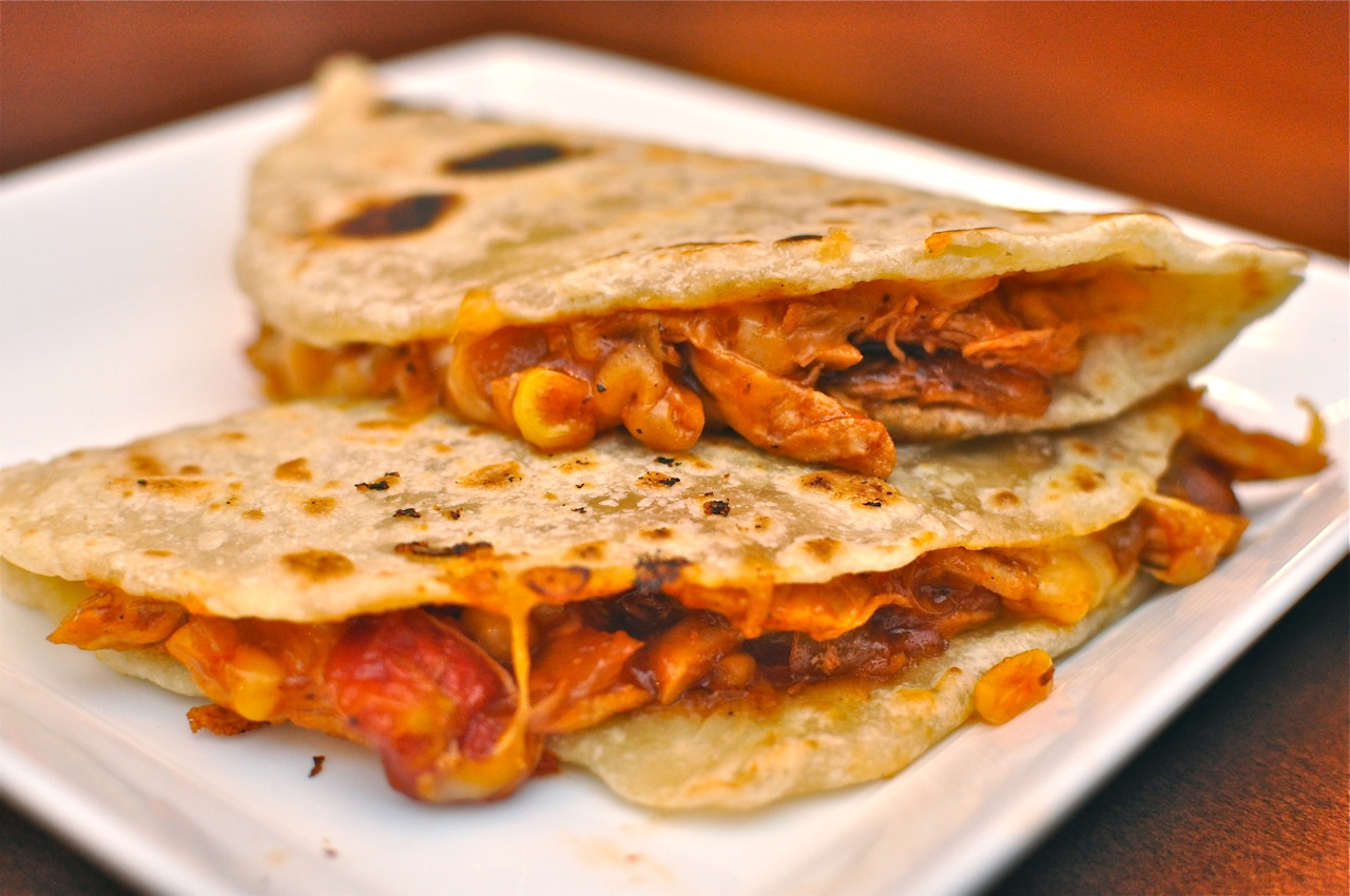 BBQ-Chicken-Flour-Tortilla