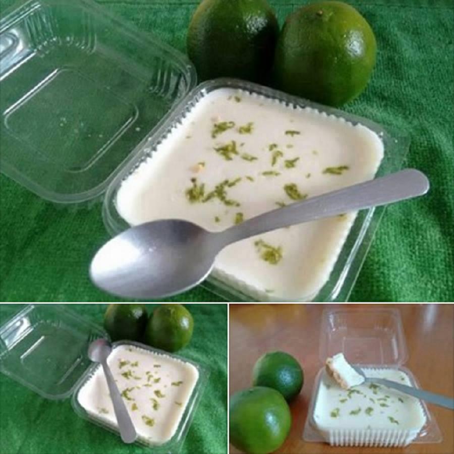 Torta Mousse de Limão no Potinho.