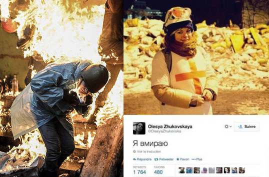 Manifestante registrou a própria morte no Twitter