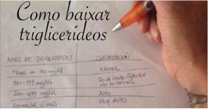 triglicerideos