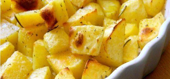 Batatas crocantes - receita rápida e simples