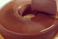 PUDIM DE LEITE CONDENSADO DE CHOCOLATE