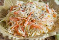 salada de repolho