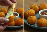 Bolinha de queijo sem massa: receita com muito recheio