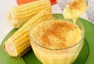 Curau Cremoso de Milho Verde