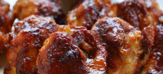Coxinhas de Frango Assadas com Molho Barbecue