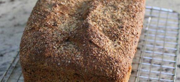 Pão 100% Integral Super Fácil