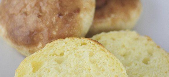 Pão Fit – 3 Ingredientes