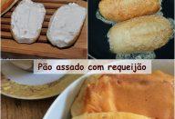 Pão com requeijão de padaria