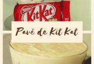 Pavê de Kit Kat