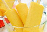 Picolé cremoso de milho
