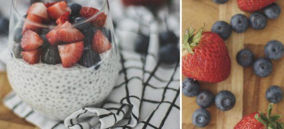 Pudim de Chia e Iogurte