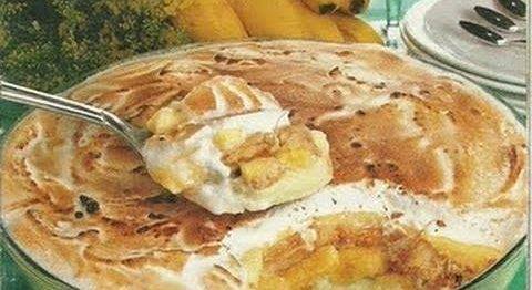Receita de Torta de Banana Vapt-Vupt